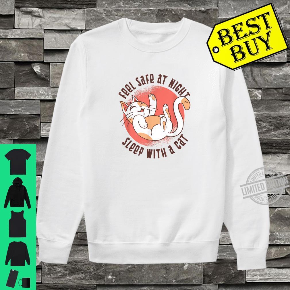 Sleep Cat Kitty Kitten Fun Shirt sweater