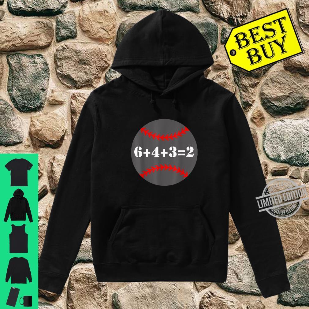 Softball 6 4 3 2 Math Baseball Shirt hoodie