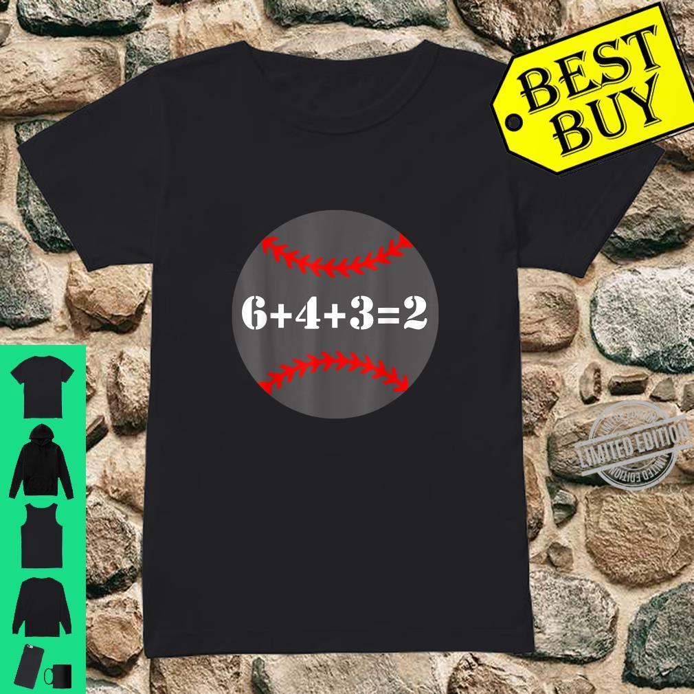 Softball 6 4 3 2 Math Baseball Shirt ladies tee