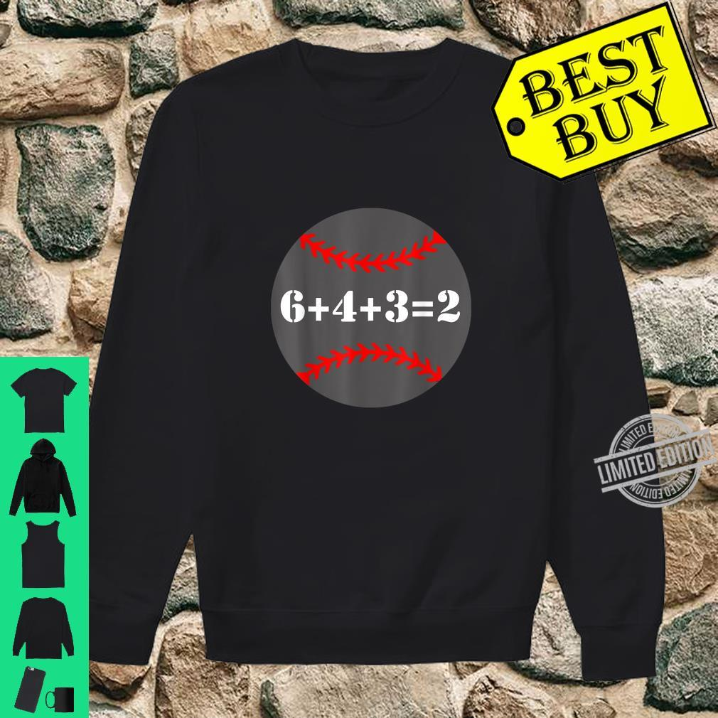 Softball 6 4 3 2 Math Baseball Shirt sweater