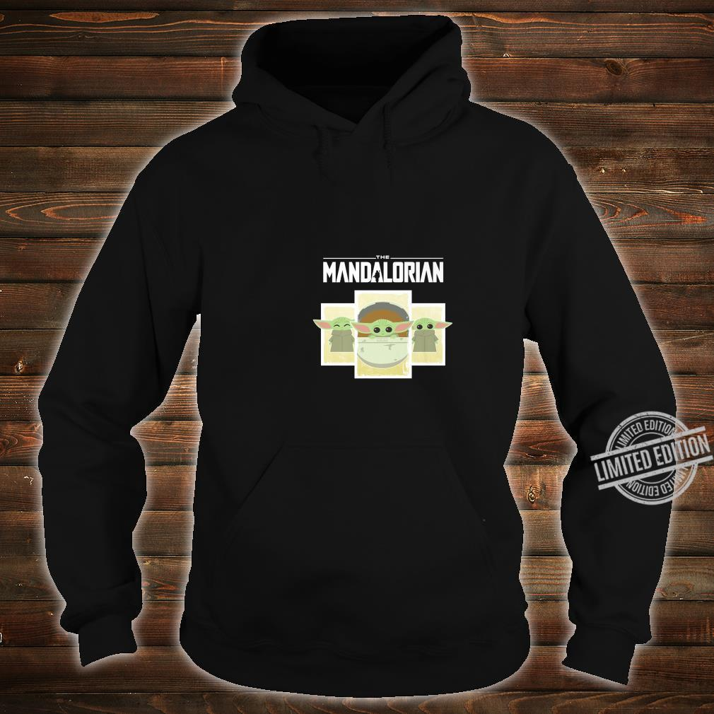 Star Wars The Mandalorian The Child Cartoon Panels Shirt hoodie