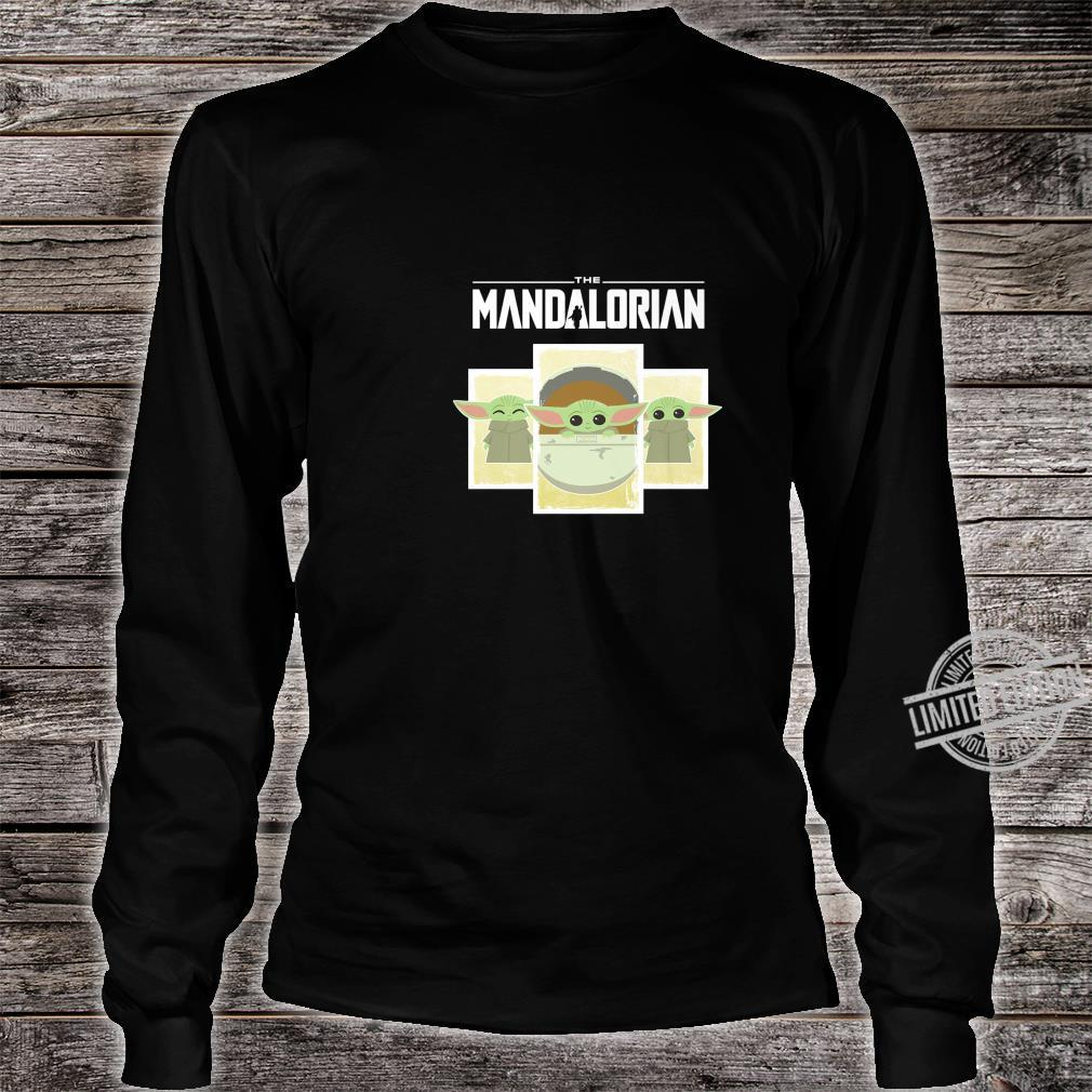 Star Wars The Mandalorian The Child Cartoon Panels Shirt long sleeved