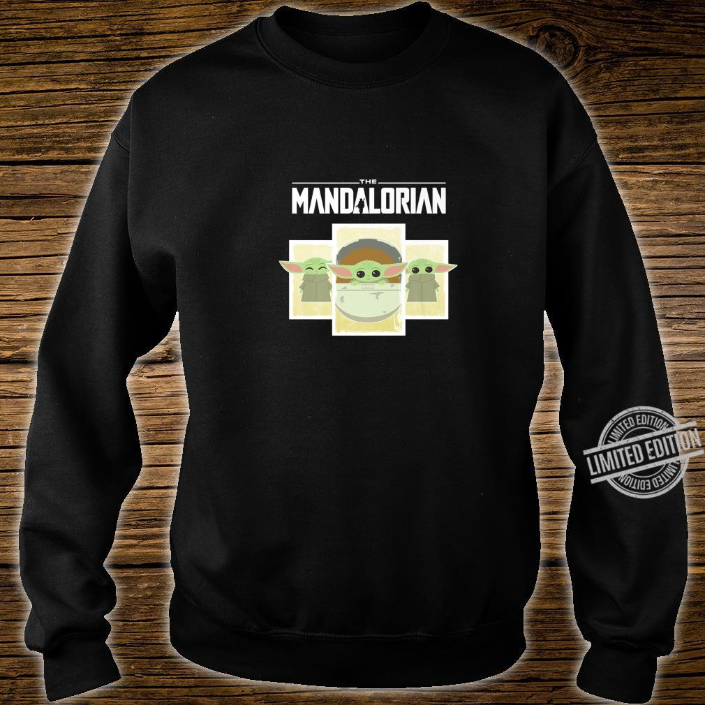 Star Wars The Mandalorian The Child Cartoon Panels Shirt sweater