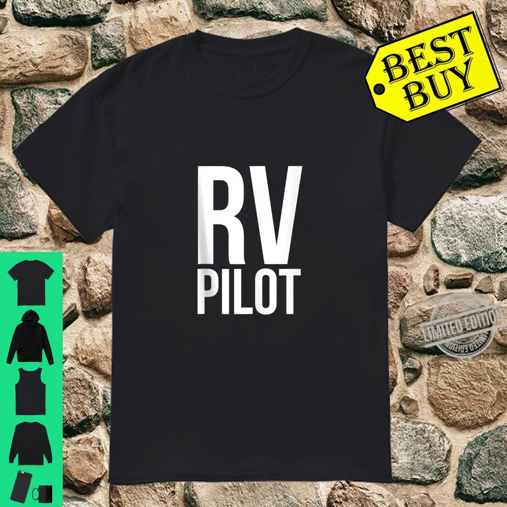 Travel RV Pilot Motorhome Vacation Couples Vanning Shirt