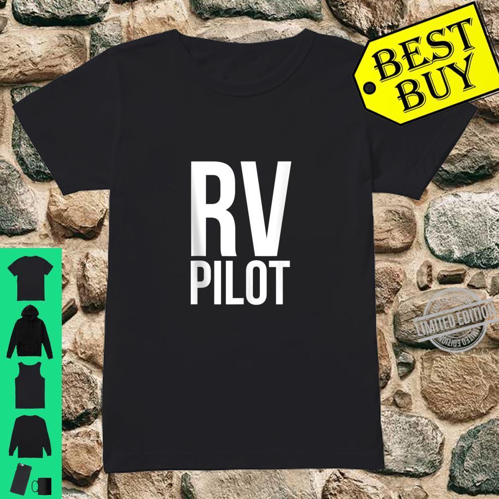 Travel RV Pilot Motorhome Vacation Couples Vanning Shirt ladies tee