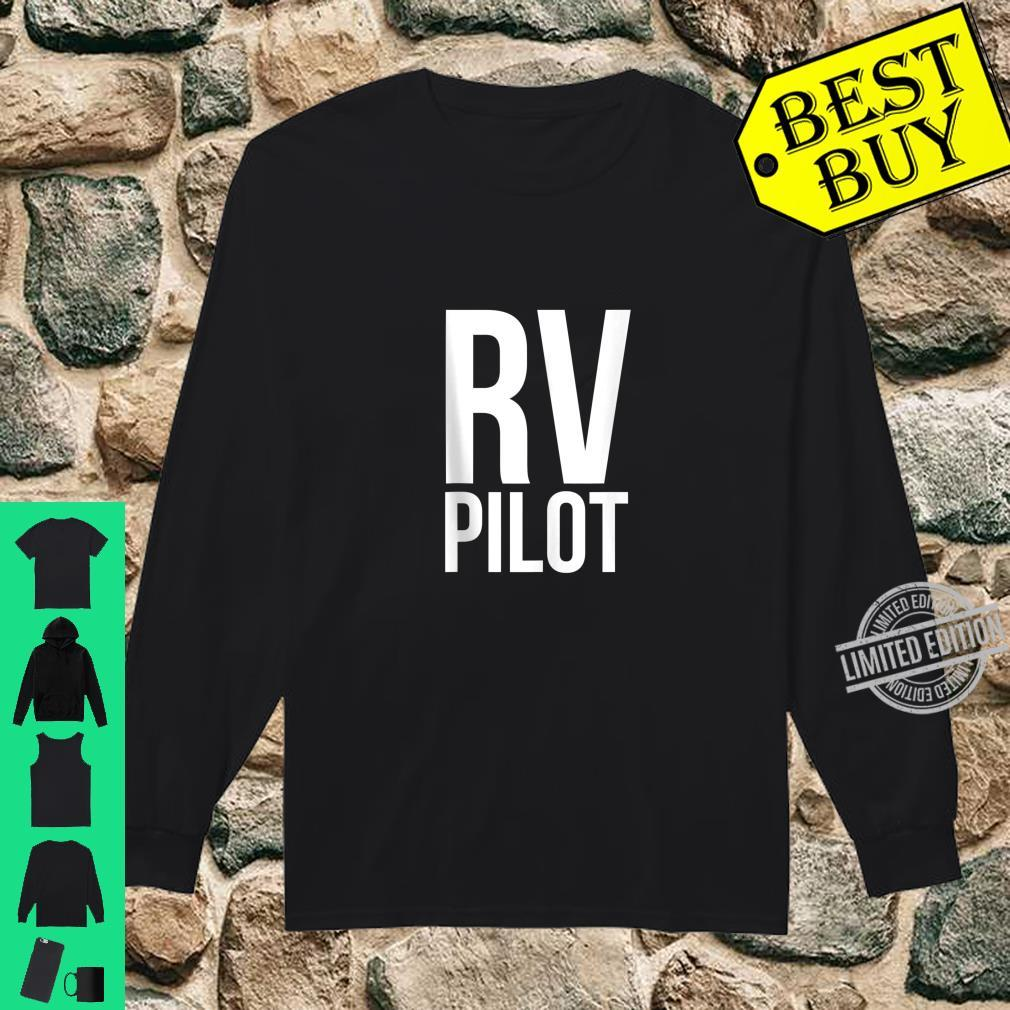 Travel RV Pilot Motorhome Vacation Couples Vanning Shirt long sleeved