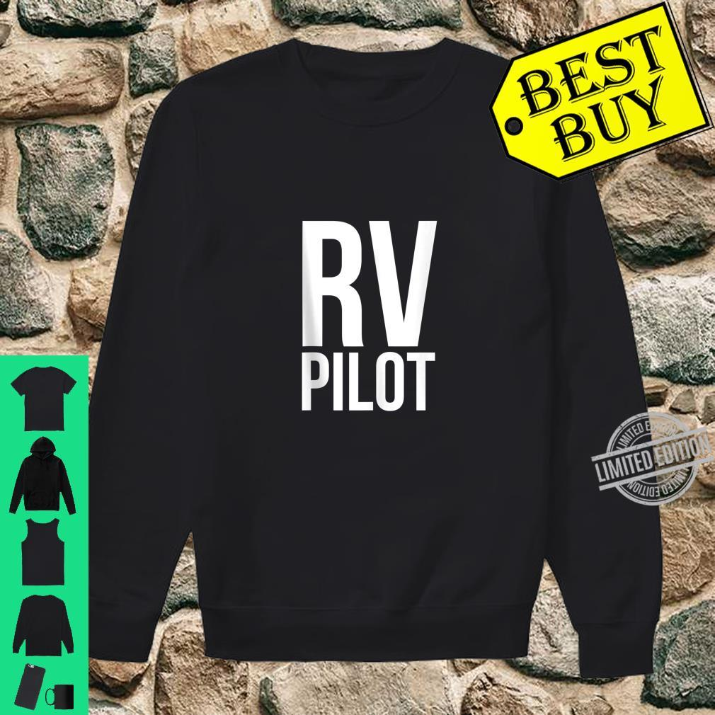 Travel RV Pilot Motorhome Vacation Couples Vanning Shirt sweater