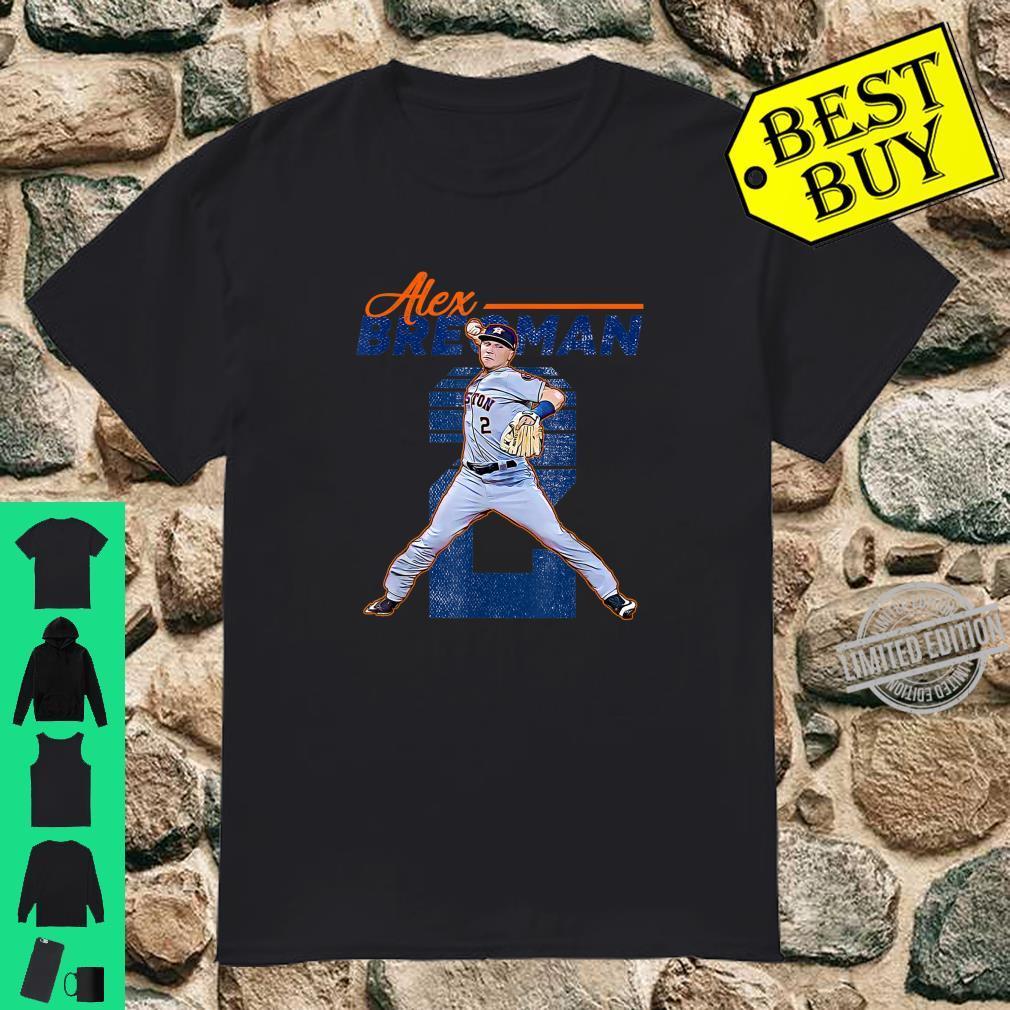 Vintage Alex Bregman Apparel Holiday Love Playing Baseball Shirt