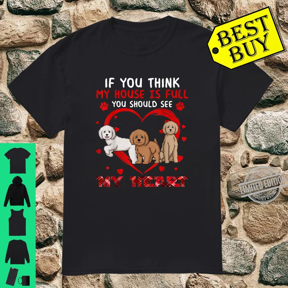 You Should See My Heart Labradoodle Dog Shirt